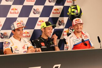 Marc Marquez, Repsol Honda Team, Valentino Rossi, Yamaha Factory Racing, Jack Miller, Pramac Racing, Press Conference