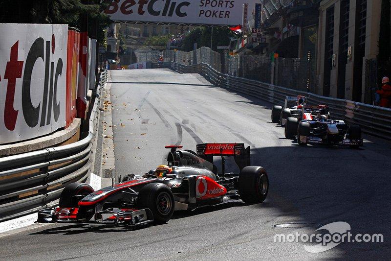 Punições antes, durante e depois do GP: Hamilton e Maldonado