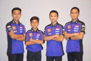 M Faerozi, Aldi Satya Mahendra, Wahyu Nugroho, Anggi Setiawan, Yamaha Racing Indonesia