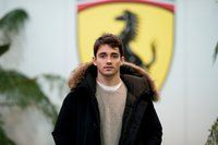 Charles Leclerc seat fitting