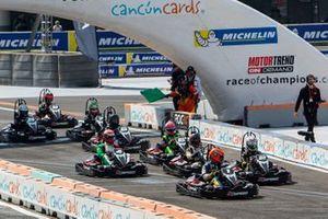 La course de karting de la ROC Mexico