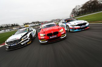 Daniel Rowbottom, Ciceley Motorsport Mercedes, Stephen Jelley, Team Parker Racing BMW and Tom Oliphant, WSR BMW
