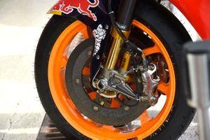 Repsol Honda Team, dettaglio del freno anteriore