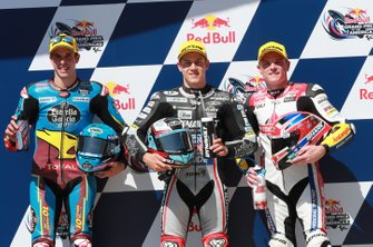 Alex Marquez, Marc VDS Racing, Marcel Schrotter, Intact GP, Sam Lowes, Gresini Racing