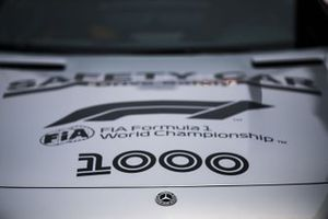 F1 1000 logos on the Safety Car