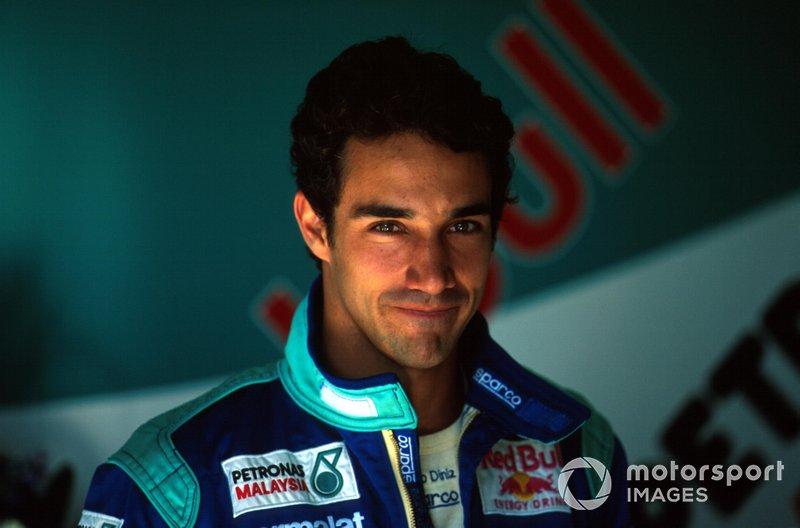 Pedro Paulo Diniz - de 1995 a 2000 - 98 corridas
