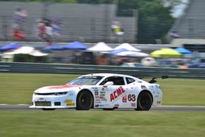 #63 TA2 Chevrolet Camaro driven by Bob Lima of Team Lima