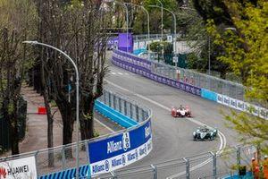 Alex Lynn, Panasonic Jaguar Racing, Jaguar I-Type 3 Pascal Wehrlein, Mahindra Racing, M5 Electro