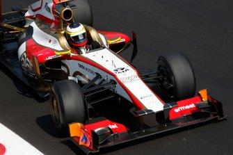 Pedro de la Rosa, HRT F112