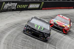 Kurt Busch, Chip Ganassi Racing, Chevrolet Camaro Monster Energy, Kyle Busch, Joe Gibbs Racing, Toyota Camry Skittles