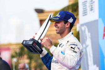 Antonio Felix da Costa, BMW I Andretti Motorsports, celebra el podio