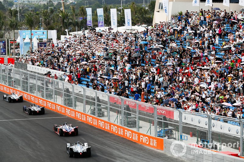 Felipe Massa, Venturi Formula E, Venturi VFE05, segue Pascal Wehrlein, Mahindra Racing, M5 Electro