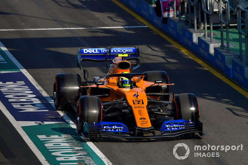 Lando Norris - McLaren: 8 puan