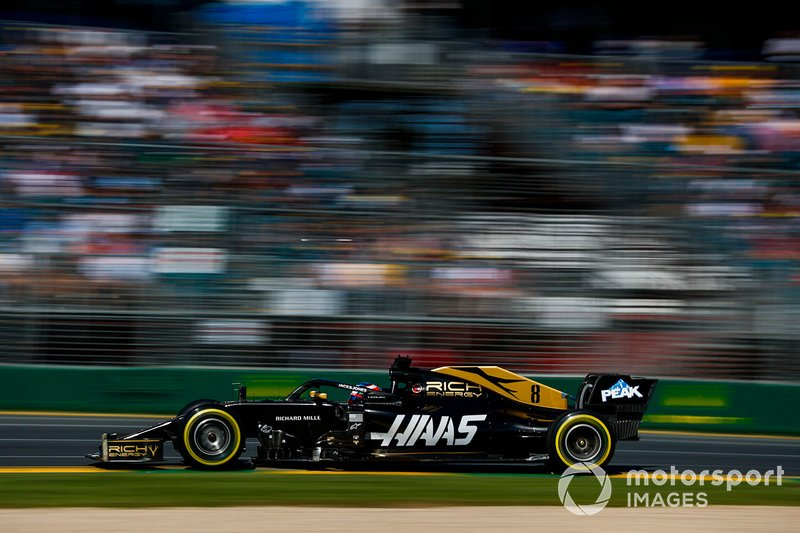 Ausfall: Romain Grosjean, Haas F1 Team VF-19
