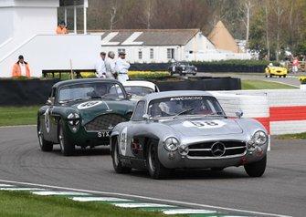 Tony Gaze Trophy, David Coulthard Mercedes Benz Gullwing