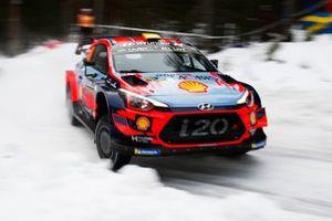 Sébastien Loeb, Daniel Elena, Hyundai Motorsport, Hyundai i20