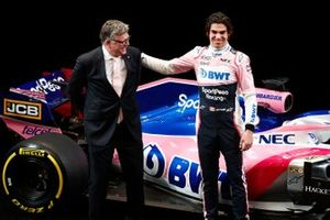 Otmar Szafnauer, Team Principal Racing Point F1 e Lance Stroll, Racing Point F1 Team