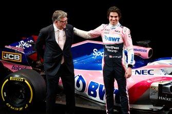 Otmar Szafnauer, Racing Point F1 Team Principal and Lance Stroll, Racing Point F1 Team