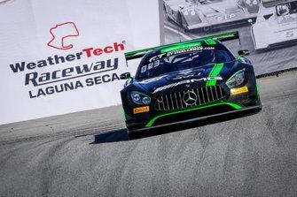 #43 Strakka Racing Mercedes-AMG GT3: Christina Nielsen, Adam Christodoulou, Dominik Baumann