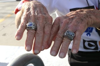 Lennard Wood, Wood Brothers Racing, with Daytona Champion ring