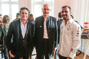 Alejandro Agag, PDG de la Formule E, Pierre Gosselin, FFSA, Jean-Eric Vergne, DS TECHEETAH