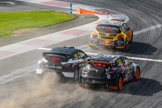 Rallycross-Action beim WRX-Saisonauftakt 2019 in Abu Dhabi