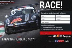 Modulo d'iscrizione al talent show RACE