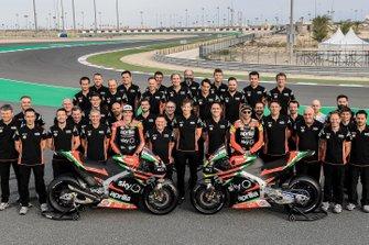 Aleix Espargaro, Aprilia Racing Team Gresini; Andrea Iannone, Aprilia Racing Team Gresini