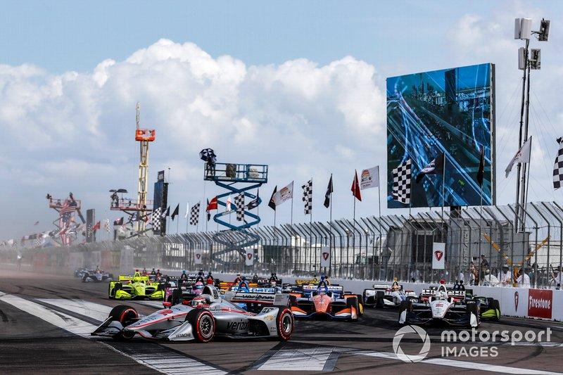 Will Power, Team Penske Chevrolet líder al inicio