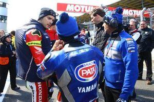 Leon Camier, Honda WSBK Team, Sandro Cortese, GRT Yamaha WorldSBK