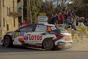 Kajetan Kajetanowicz, Maciej Szczepaniak, Volkswagen Polo R5, WRC 2, Tour de Corse