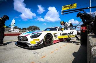 #888 Mercedes-AMG Team GruppeM Racing Mercedes-AMG GT3: Maro Engel, Yelmer Buurman, Luca Stolz