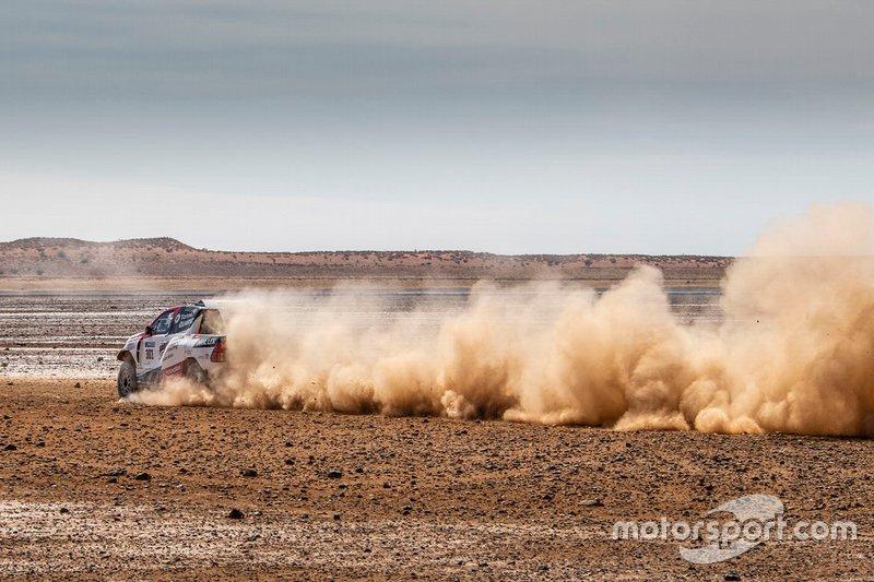 301# Toyota Gazoo Racing Toyota Hilux: Fernando Alonso, Giniel de Villiers