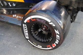 McLaren ruota posteriore