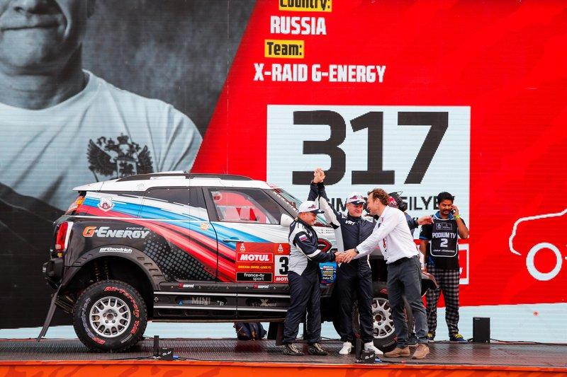 #317 JCW X-Raid Team: Vladimir Vasilyev, Vitaliy Yevtyekhov
