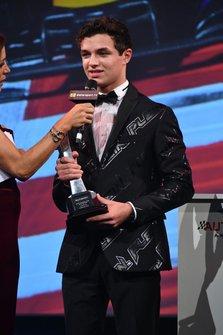 Lando Norris, McLaren gana el Premio al Mejor Piloto Británico del Año