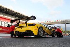 Ferrari in pitlane
