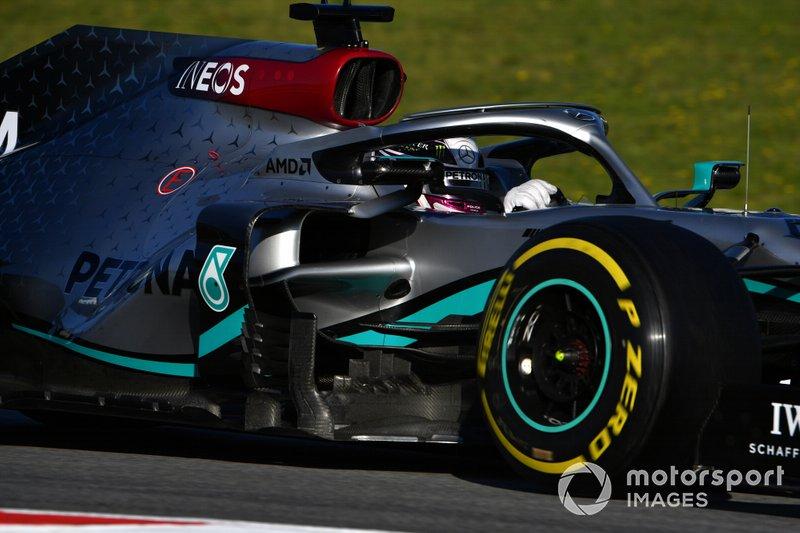 Lewis Hamilton, Mercedes F1 W13
