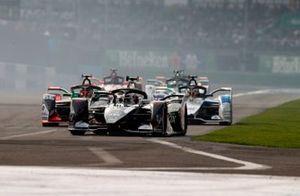 Brendon Hartley, Dragon Racing, Penske EV-4 Daniel Abt, Audi Sport ABT Schaeffler, Audi e-tron FE06, Maximilian Günther, BMW I Andretti Motorsports, BMW iFE.20