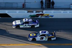 Chase Elliott, Hendrick Motorsports, Chevrolet Camaro NAPA Auto Parts, Ty Dillon, Germain Racing, Chevrolet Camaro GEICO