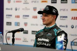 Mitch Evans, Jaguar Racing en la conferencia de prensa