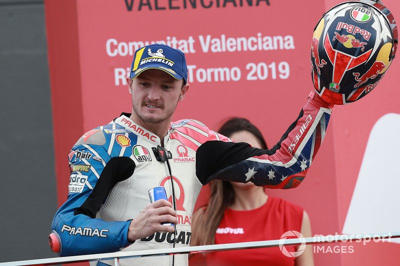 Podio: il terzo classificato Jack Miller, Pramac Racing