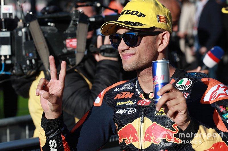 Second place Jorge Martin, KTM Ajo