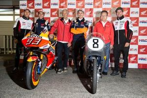 Такааки Накагами, LCR Honda Idemitsu, Марк Маркес, Repsol Honda Team, Джим Редман, Хорхе Лоренсо, Repsol Honda Team, Кунимицу Такахаси и Кэл Кратчлоу, LCR Honda Castrol
