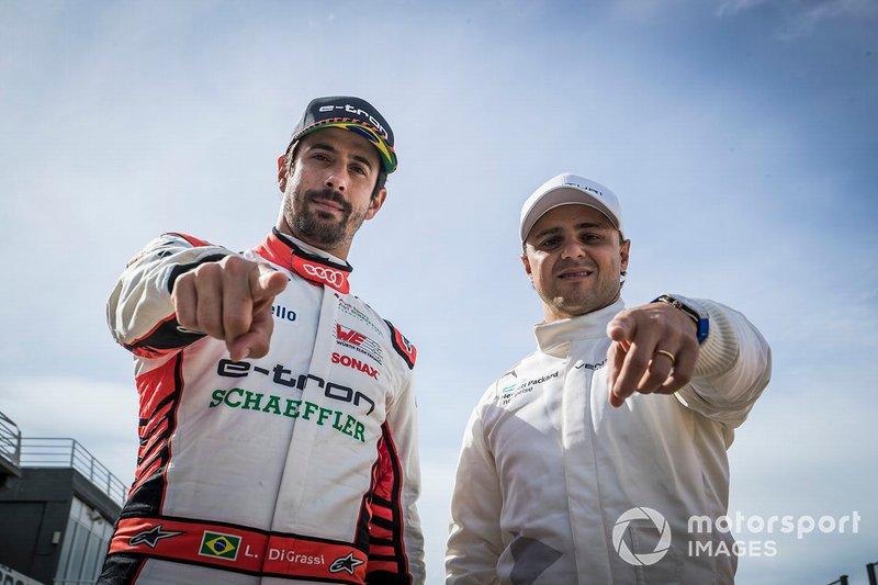 Lucas Di Grassi, Audi Sport ABT Schaeffler, Felipe Massa, Venturi Formula E
