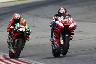 Франческо Баньяя, Alma Pramac Racing, и Алеш Эспаргаро, Aprilia Racing Team Gresini