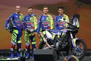 Johnny Aubert, Michael Metge, Lorenzo Santolino, Harith Noah, Sherco TVS Rally Factory Team