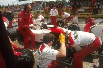 Gerhard Berger, McLaren MP4/6