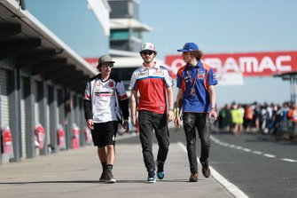 Niccolo Antonelli, SIC58 Squadra Corse, Francesco Bagnaia, Pramac Racing, Marco Bezzecchi, Tech 3