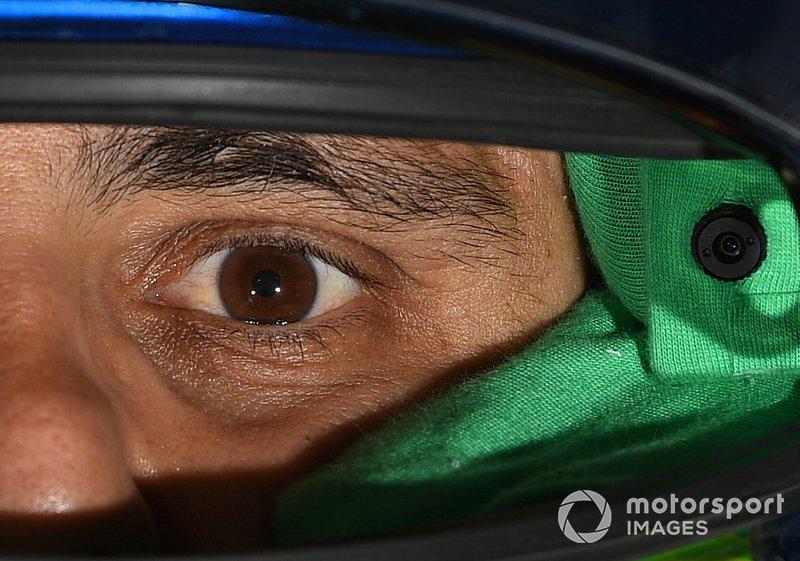 Felipe Massa, Venturi, con il suo casco da pilota